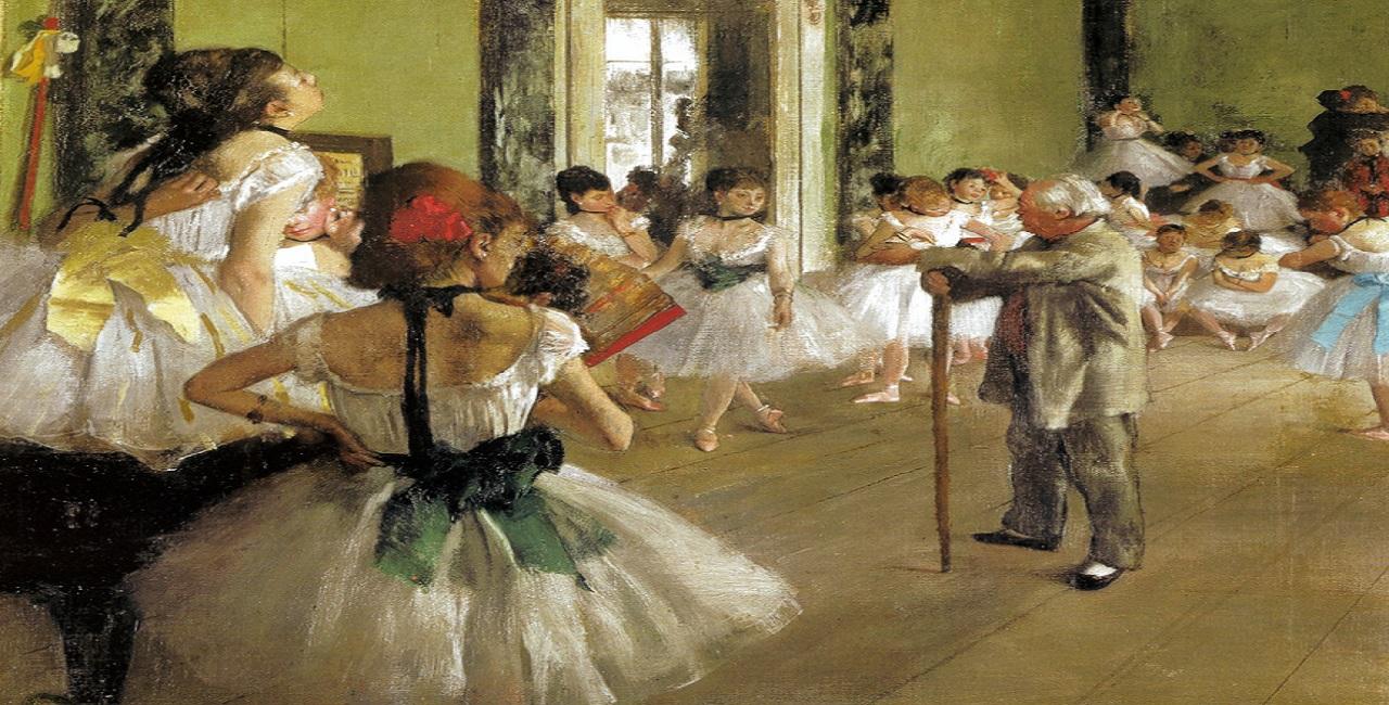 Edgar Degas - The Dance Class, 1876 at Musée d'Orsay Paris France