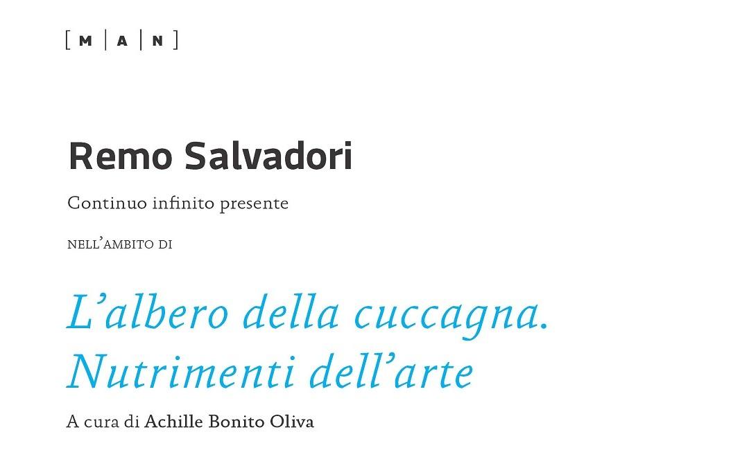 """""""Continuo infinito presente"""": un intervento di Remo Salvadori"""