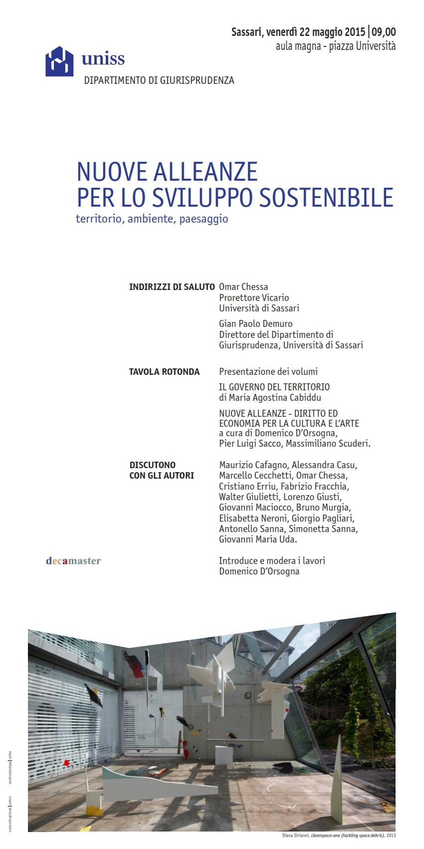 Convegno Nuove Alleanze Sassari 2015