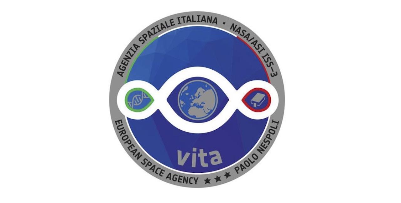 Il logo della missione Vita