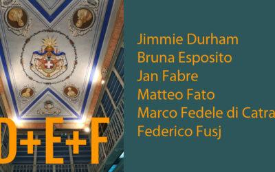 D+E+F: le biografie degli artisti partecipanti alla mostra No Man's Library / La Biblioteca di Tutti. Inaugurazione il 10 maggio 2018