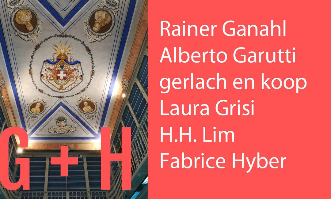 G + H: le biografie degli artisti partecipanti alla mostra No Man's Library / La Biblioteca di Tutti. Inaugurazione il 10 maggio 2018