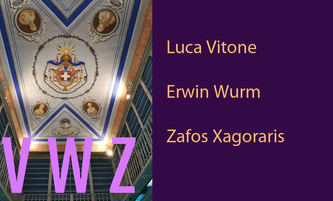V W Z: le biografie degli artisti partecipanti alla mostra No Man's Library / La Biblioteca di Tutti. Inaugurazione il 10 maggio 2018