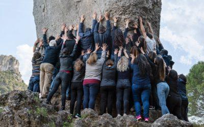 MARCELLO MALOBERTI. CUORE MIO a cura di Davide Mariani. Il 21 settembre, inaugurazione dell'opera site-specific sulla montagna di Ulassai