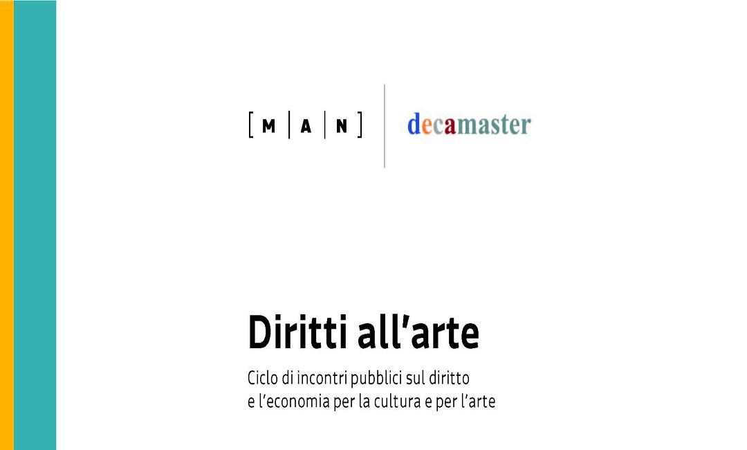 """""""Diritti all'arte"""": incontro con Cecilia Guida"""
