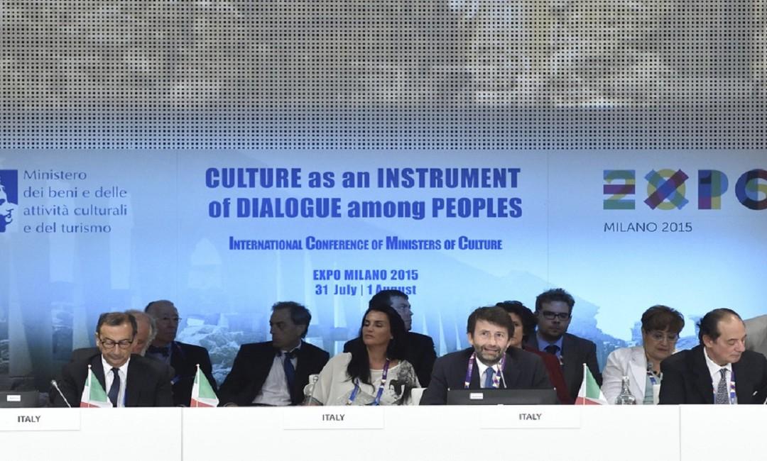 EXPO: summit internazionale degli 83 ministri della cultura