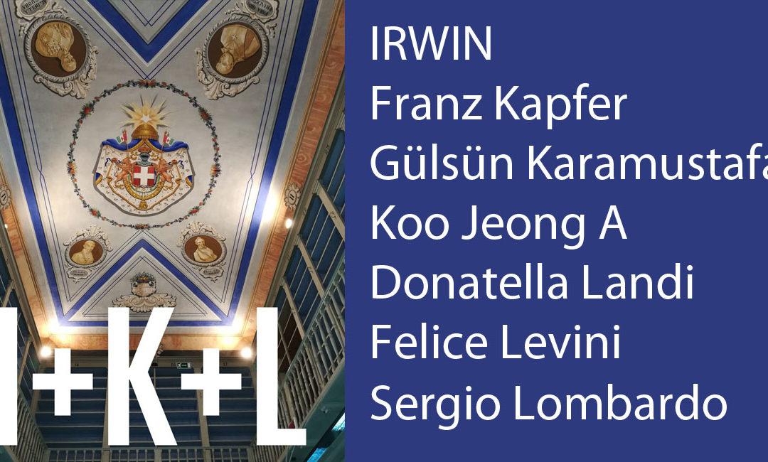 I+K+L: le biografie degli artisti partecipanti alla mostra No Man's Library / La Biblioteca di Tutti. Inaugurazione il 10 maggio 2018