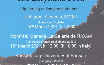 Il Libro di Zerynthia | The Zerynthia Book, link per la presentazione a Ljubljana – 16 marzo 2021, ore 12:00
